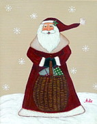 Anke Wheeler - Folk Art Santa Claus