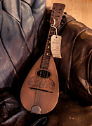 Jeffery Johnson Prints - Folk Mandolin Print by Photo Captures by Jeffery