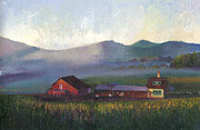 William Killen - Folk School Barn at Dawn