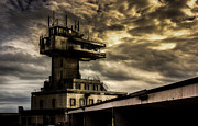 Control Tower Prints - Folkestone harbour Control Print by Ian Hufton