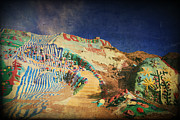 Salvation Mountain Posters - Follow the Yellow Brick Road Poster by Laurie Search
