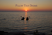 Follow Your Dreams Print by Aimee L Maher