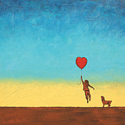 Inspirational Paintings - Follow Your Heart by Bob and Marie Bretz