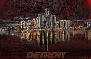 Detroit Painting Posters - Follow Your Heart Poster by Garrett Quattlander