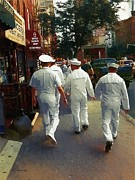 Uniforms Digital Art Prints - Following the Fleet Print by RC deWinter