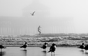 Dustin K Ryan - Folly Beach Pier Foggy...