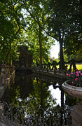 Medici Prints - Fontaine de Medicis in Jardin du Luxembourg - Paris Print by RicardMN Photography