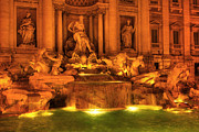 Fountain Digital Art Originals - Fontana Bella by John Galbo