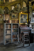 Castle Photos - Fonthill Castle Saloon by Susan Candelario