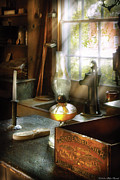 Oil Lamp Photo Prints - Food - Bordens Condensed Milk Print by Mike Savad
