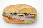 Fastfood Art - Food - bread roll with fish by Matthias Hauser