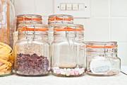 Food Jars Print by Tom Gowanlock