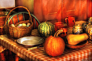 Basket Prints - Food - Natures Bounty Print by Mike Savad