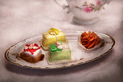 Tea Party Metal Prints - Food - Sweet - Cake - Grandmas treats  Metal Print by Mike Savad