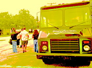 Stills Originals - Food Truck in Green by Diane Phelps