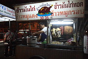 Market Prints - Food Vendors - Night Street Market - Chiang Mai Thailand - 01133 Print by DC Photographer