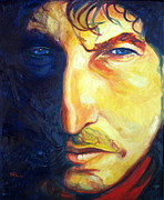 Bob Dylan Painting Originals - Foot of Pride by Natasha Laurence