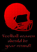 Andee Photography - Football Season Should Be Year Round In Red