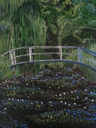 April Maisano - Footbridge Over Lily Pond