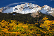 Mountain Landscapes Prints - Foothills of Gold Print by Darren  White