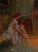 Table Lamp Framed Prints - Footwear Framed Print by Delphin Enjolras