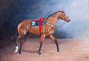 Pauline Sharp - For Bill- Racehorse