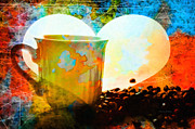 Abstracted Photos - For Coffee Lovers Around The World by Kenny Francis