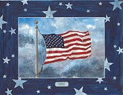 U S Flag Originals - For Ever - Old Glory by Herb Strobino