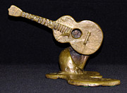 George Sculptures - For George Harrison by Julie Turner