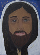 Kate Farrant Posters - For Me- My Jesus Poster by Kate Farrant