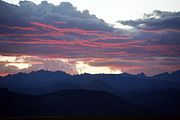 Purple Clouds Prints - For Purple Mountains Majesty Print by Marilyn Hunt