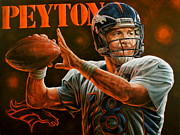 Sports Art World Wide John Prince - For Sale Peyton Manning...