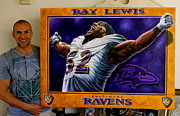 Sports Art World Wide John Prince - For Sale Ray Lewis...