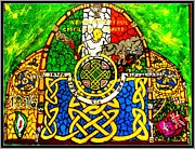 Celtic Knotwork Framed Prints - For the families of Irish POWs Framed Print by Brett Genda