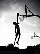 For The Love Of Basketball  Print by Lisa Piper Menkin Stegeman