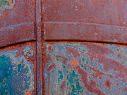 Rusted Cars Prints - For The Love of Rust II Print by Marilyn Smith