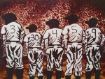 Babe Ruth Paintings - For The Love of The Game by Yvonne Sayers