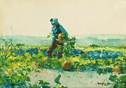 Winslow Homer - For to be a Farmers Boy