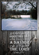 All - for unto you is born this day in the city of David a Savior who is Christ the LORD by Erin Rickelton