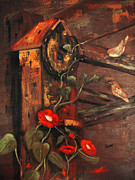 Rust Paintings - For Wrent by Sharon Burger