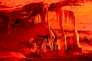 Stalagmite Prints - Forbidden Caverns 1 Print by T C Brown