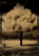 Infrared Prints - Forbidding Shadows Print by Gothicolors And Crows