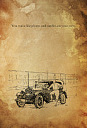 Ford And The Baseball Star Print by Pablo Franchi