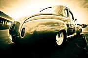 Phil Motography Clark Metal Prints - Ford Clubman Metal Print by Phil 