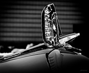 Singles Framed Prints - Ford - Cresline Sunliner Hood Ornament Framed Print by Steven Milner