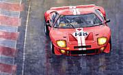 Ford Gt 40 24 Le Mans  Print by Yuriy  Shevchuk