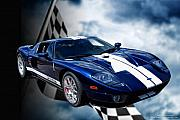 Supercars Photos - Ford Gt 40 by John Melton
