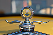 Emblem Photos - Ford Model A Coupe 1930 by George Atsametakis