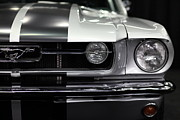 Muscle Metal Prints - Ford Mustang Fastback - 5D20342 Metal Print by Wingsdomain Art and Photography
