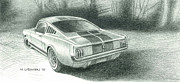 Carroll Shelby Originals - Ford Mustang GT350 by Norb Lisinski